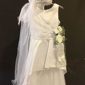 Other - Youth white dress holy communion wedding parties